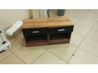 Two bedside chest drawers