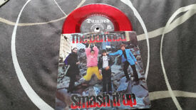 The Damned smash it up red vintage vinyl record punk