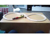 Wooden toy train set £10