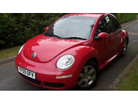 2009 VW BEETLE LUNA 1.6 PETROL,ONE OWNER,TIMING BELT DONE!VERY GOOD COND.