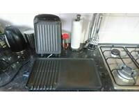 George foreman grill + flat grill