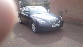 Bmw 5 series automatic 2007, 2.3i SE , automatic, blue, petrol,leather seating, pdc