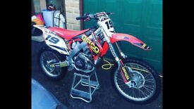 Here is my honda crf450r
