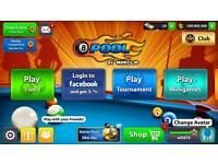 100 millions coins for 8 Ball Pool