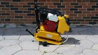 HONDA PLATE TAMPER COMPACTOR FORWARD REVERSIBLE AND DIESEL AVAILABLE + 1 YEAR WARRANTY + FREE SHIPPING NOVA SCOTIA WIDE