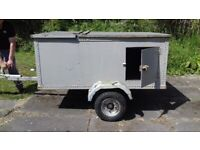 Car trailer 5 feet by 3half feet rear lights