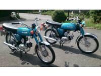 Two Suzuki ap50's