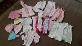 Newborn Baby Girl Clothes 28 items