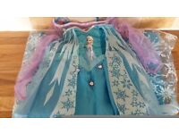 Disney frozen Elsa and anna dress up costumes