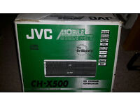 JVC Mobile Entertaiment 12 CD Changer Car Stereo (face off) with case. In original Box