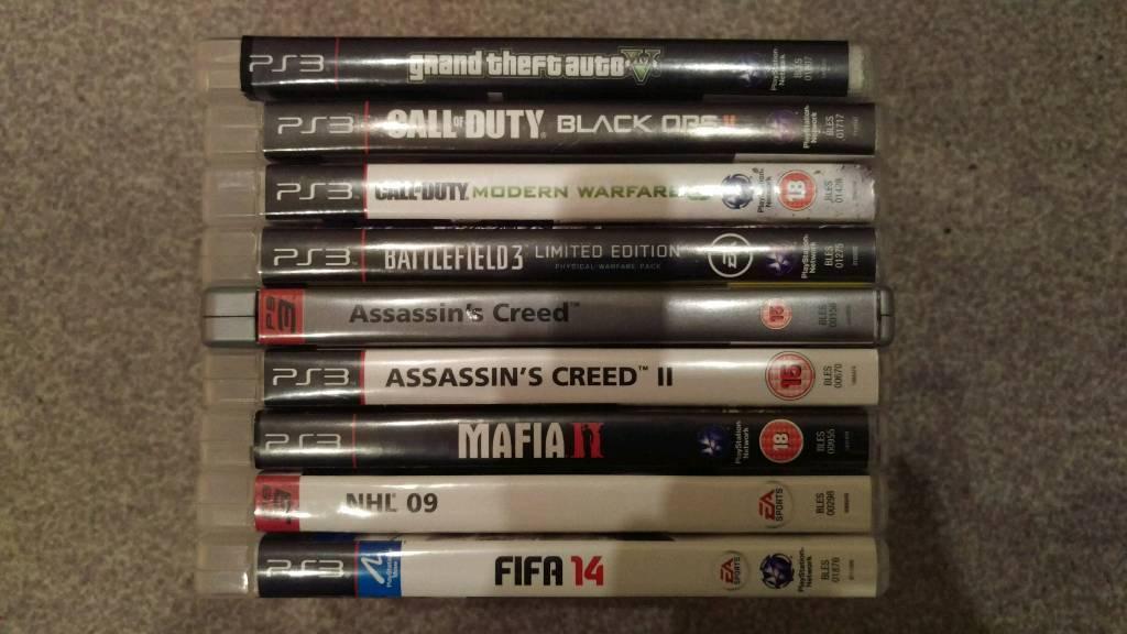 9 X PS3 Games