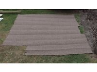 Brand new mocha/mid brown carpet - medium to heavy wear (lounges/stairs/halls etc) - 215 x 170