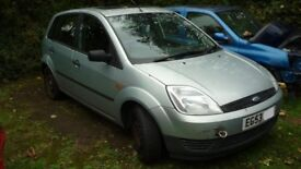 Breaking For Spares Ford Fiesta 5 Door 53 Plate
