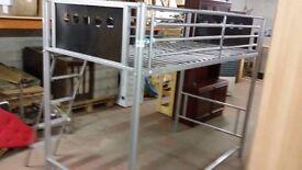 Single bunk bed frame