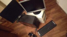 two desktops