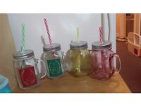 Set of 4 jars/Mugs £2 only