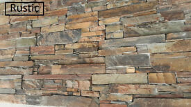 Real Stone Cladding Z Panels 8 stone types