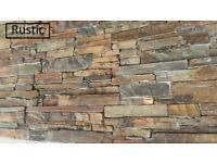 Real Stone Cladding Z Panels 8 stone types