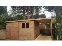 Sheds for sale see description for sizes and prices 12ft x 12ft £1,000
