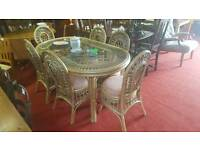 Table & 6 chairs tcl 12537