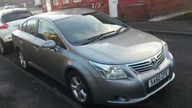 Toyota Avensis1.6 Rossendale plated taxi