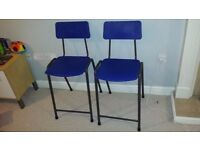 Childrens High Tall Chair / Stool Childs - Remploy