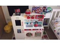 Mini toy kitchen.
