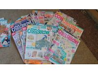 magazines the world of cross stitching and cross stitcher