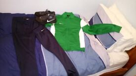 Nike sportwear bundle.Bargain! perfect condition.Size S / Shoes 9