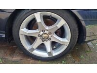 "Mercedes Hoedus 17"" Alloy Wheels"