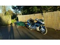 Honda goldwing 1500 with trailer