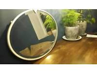 Vintage bevelled edge mirror.