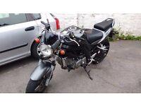Suzuki SV 650 K8 Motorbike for sale only 7300 miles on clock