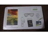 Acer Iconia Tab 8 White (32gb) - Brand New in original packaging