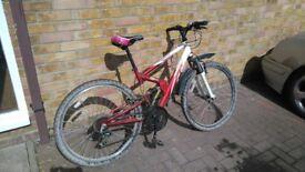Full suspension unisex bike