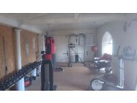 multi gym and weights
