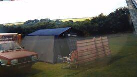 4 berth fr tent and equipment