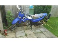 2008 suzuki drz 125 (spares or repair)