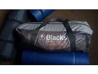 2 man tent - Blacks Cygnus Constellation plus 3 mats