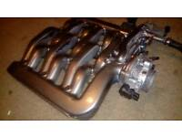 Ford Mondeo ST200 upper inlet manifold + SVT throttle body