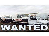 Volkswagen transporter & volkswagen caddy & volkswagen crafter wanted