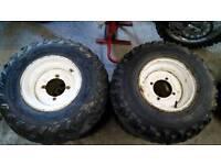 Quad atv wheels tyres