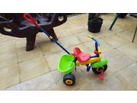 Toddlers Trike with guide handle