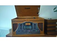Steepletone vintange effect record player