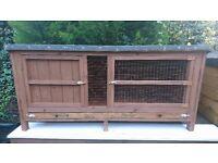 5ft Animal hutch rabbit/ guinea pig