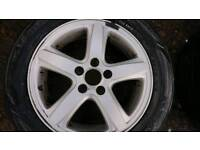 16 inch alloy wheels with tyres 215/55/16