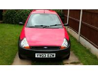 Ford Ka 3 DOOR HATCHBACK
