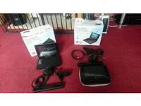 2 x LG Hd lcd portable dvd player