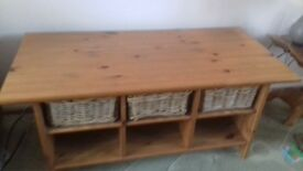 TV unit, Coffee Table & CD Unit