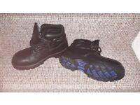 Mens Steel Toe Cap Boots
